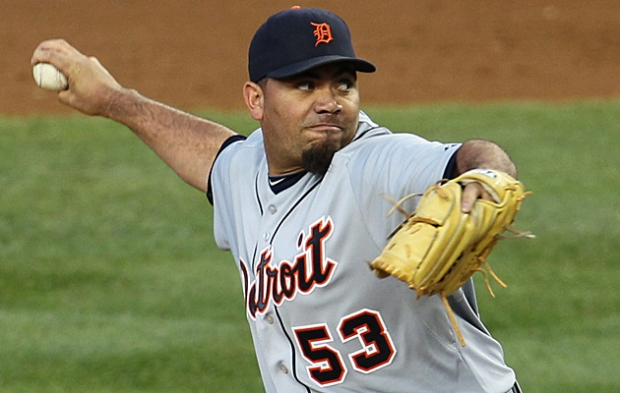 MLB: ALDS-Detroit Tigers at New York Yankees
